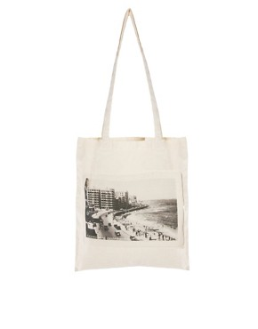 Image 1 ofBorders &amp; Frontiers Corniche Road Print Shopper