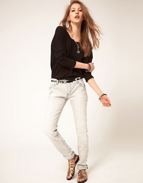 Image 1 ofZadig and Voltaire Skinny Bleach Jeans