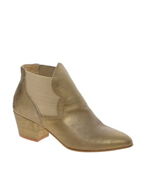 Image 1 ofAldo Mooneyham Gold Western Boots