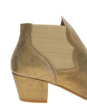 Image 2 ofAldo Mooneyham Gold Western Boots