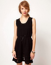 Edun Sleeveless Dress In Crochet