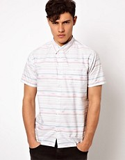 Another Influence Shirt With Reverse Stripe