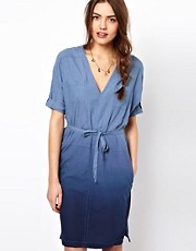 French Connection Dip Dye Donna Dress
