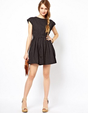 Image 4 ofSugarhill Boutique Polka Open Back Dress