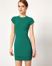 French Connection Colour Body Con Dress