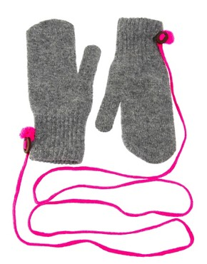Image 1 of Paul Smith Mittens On A String