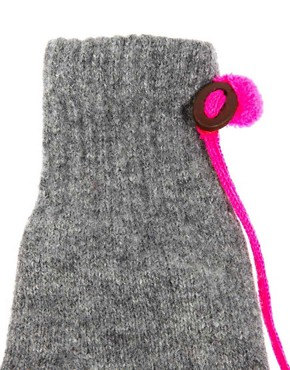 Image 2 of Paul Smith Mittens On A String