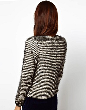 Image 2 ofASOS Blazer In Stripe Boucle