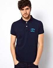 Franklin & Marshall  Polohemd mit Logo