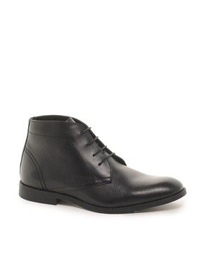 Image 1 ofASOS Chukka Boots in Leather