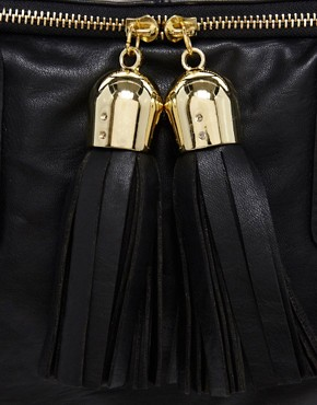 Image 4 ofASOS Tassel Bowler Bag