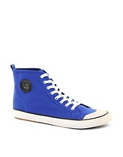 Cheap Monday Birdman Hi-Top Plimsolls