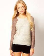 ASOS Sequin Yarn Jumper