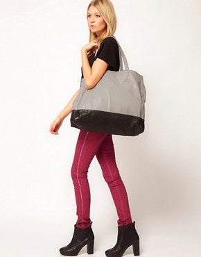 Image 3 ofASOS Colour Block Shopper