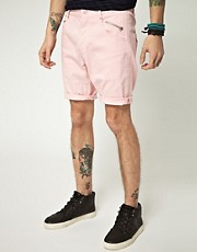Unconditional Exclusive Double Fray Denim Shorts