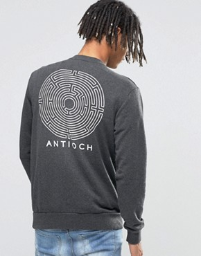 Antioch Maze Backprint Sweater