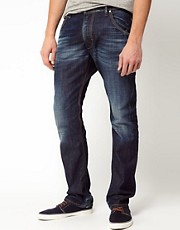 Diesel Jeans Krooley Straight Fit 0806U Dark Wash