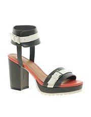 ASOS HERCULES Heeled Sandals