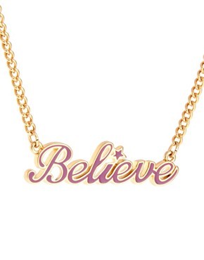 Image 4 of Disney Couture Believe Necklace