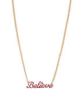 Image 1 of Disney Couture Believe Necklace