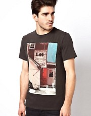 Lee T-Shirt Photographic Print Regular Fit