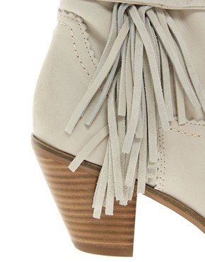 Image 2 ofSam Edelman Louie Fringed Ankle Boots
