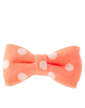Image 4 ofLimited Edition Spot &amp; Stripe Neon Bow Clip