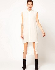 BACK By Ann-Sofie Back Double Length Shirt Dress