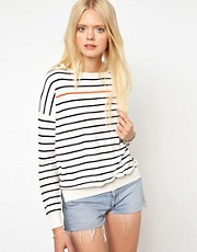 Selected Striped Knitted Jumper