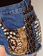 Image 3 of ASOS Premium Embellished Jewel Short