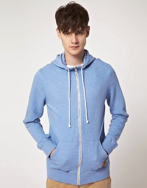 Image 1 ofRevolution Zip Through Hooded Sweatshirt