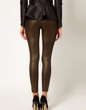 Image 2 ofOasis Foil Print Legging