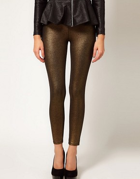 Image 4 ofOasis Foil Print Legging