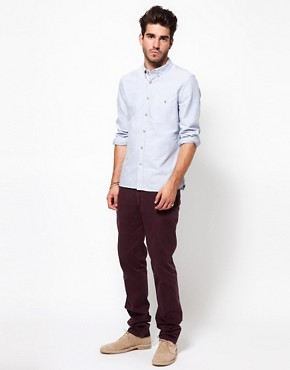 Image 4 ofDrykorn Slim Chino In Washed Cotton