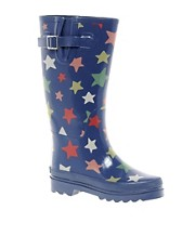 Botas de agua con estrellas fugaces de Cath Kidston