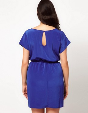 Image 2 ofASOS CURVE Dress With Keyhole Back