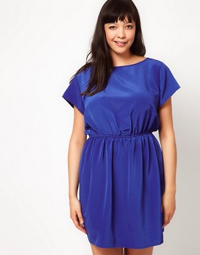 Image 4 ofASOS CURVE Dress With Keyhole Back
