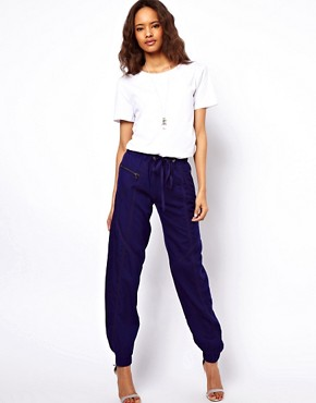 Image 1 ofASOS Trousers with Tape Detail