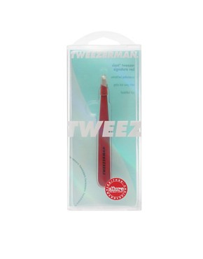 Image 3 ofTweezerman Signature Red Slant Tweezers