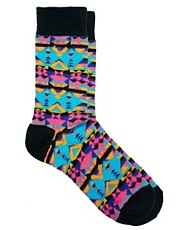 ASOS  Socken mit Aztekenmuster