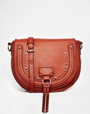 ALDO Structured Crossbody with Tassel and Studs