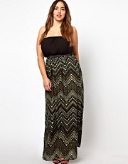 New Look Inspire Printed Maxi Dress
