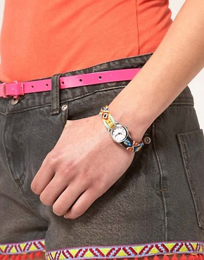 Image 3 ofASOS Friendship Bracelet Watch