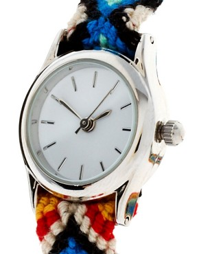 Image 4 ofASOS Friendship Bracelet Watch