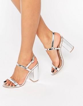 Sandalias de tacón HELLO de ASOS