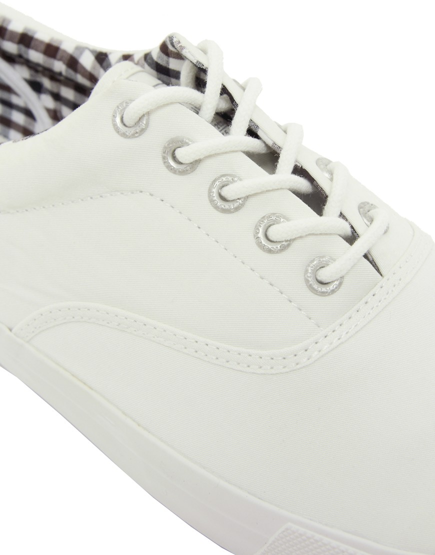 Image 2 of Jack & Jones Kos Lo Canvas Plimsolls
