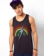 Lightning Bolt Rainbow Vest