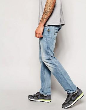 G-Star Attacc Straight Light Aged Wash Jean
