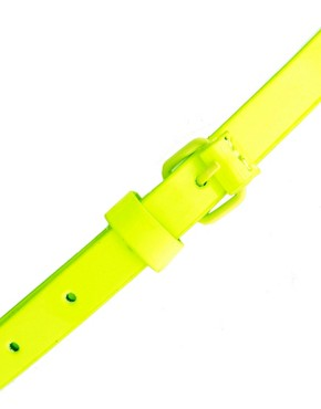 Image 2 ofASOS Fluro Skinny Belt