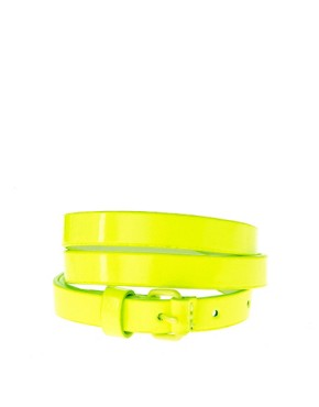 Image 1 ofASOS Fluro Skinny Belt